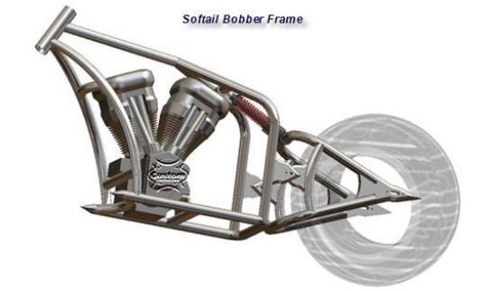 Custom Motor Bobber