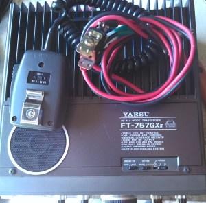 Yaesu GX-757 11 Top