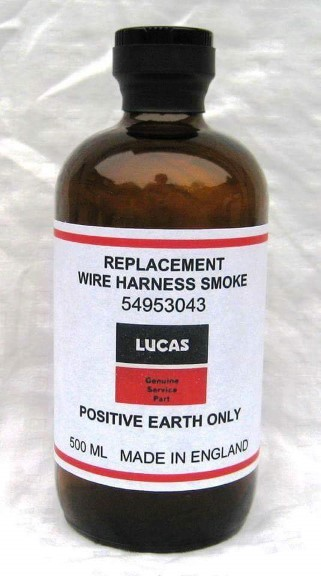 lucas replacement wire harness smoke oxley region amateur radio club  at Why Did Lucas Put Smoke In Thier Wiring Harness