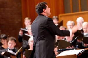 Ethan Sperry conducted Oregon Repertory Singers.