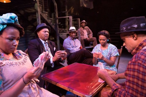 """Seven Guitars"" was part of Portland's August Wilson fest/ © Owen Carey 2012"