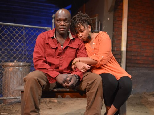 "Peter Macon and Ramona Lisa Alexander in ""King Hedley II""/Brud Giles"