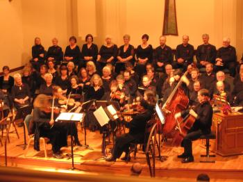 Bach Cantata Choir performs  Sunday.
