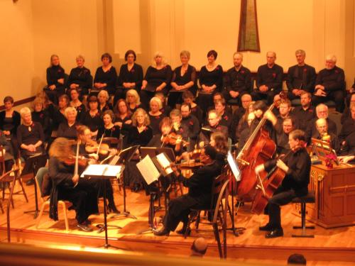 Bach Cantata Choir.