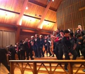 Monkeying around: PSU Chamber Choir's energetic winter concert.