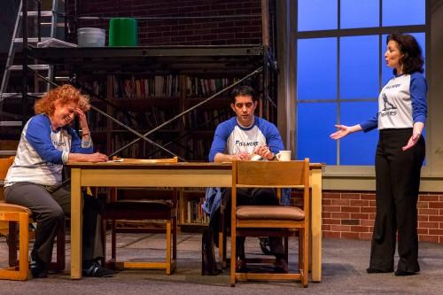 "Jacklyn Maddux, John San Nicolas and Maureen Porter in  ""A Noble Failure""/Owen Carey"