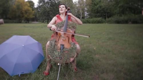 Portland cellist Ashia Grzesik