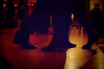 Tango walking is upright, attentive, captured yet swaying, visually and mentally transporting.