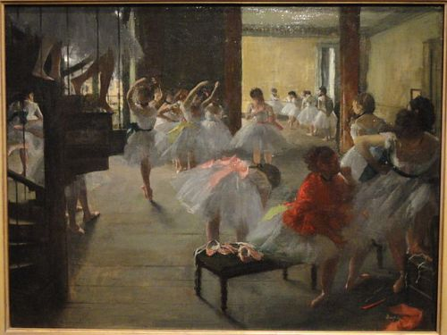 Edgar Degas, The Dance Class, 1873/Wikimedia