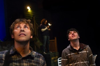 "Chris Murray and Bryce Earhart in ""The Aliens""/Third Rail Rep"