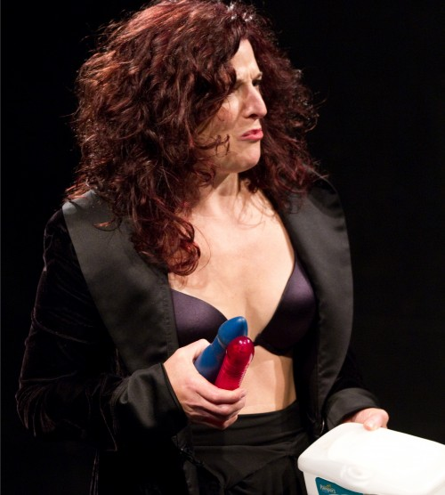 "Eleanor O'Brien in ""Dominatrix."" Photo: John Rudoff"