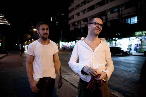 Ryan-Gosling-and-Nicolas-Winding-Refn-on-the-set-of-Only-God-Forgives-2013-Movie-Image