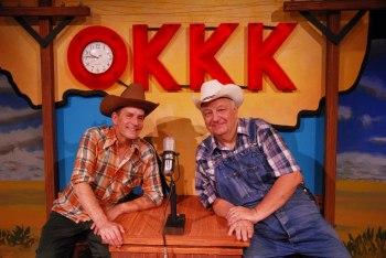 Horenstein and Brickner-Schulz. Photo: Lakewood Theatre