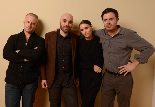 Ben Foster, David Lowery, Rooney Mara, Casey Affleck