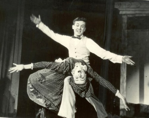 Jack in his Broadway days, from his files. Show and partner unknown.