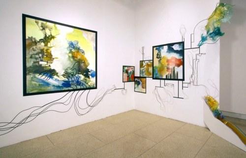 """Susan Murrell, """"Shell"""" (installation view)"""