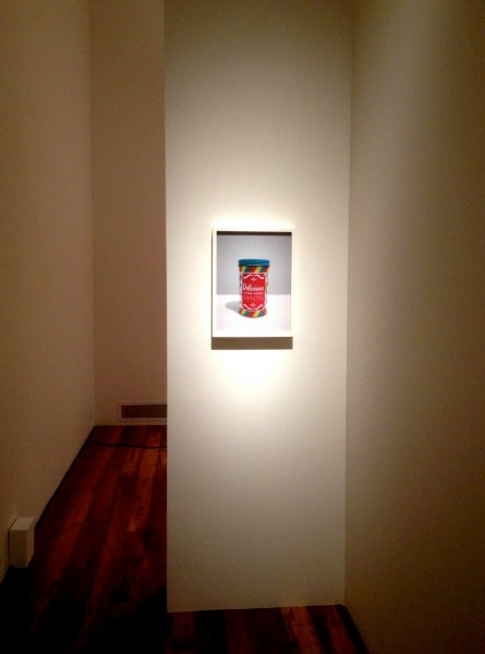 "Jamie Isenstein, ""Delicious After Dinner Mints,"" 2010, C-print. Installation view."