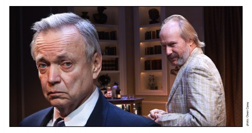 "Allen Nause, left, with William Hurt in ""No Man's Land"" at Artists Repertory Theatre/Owen Cary"