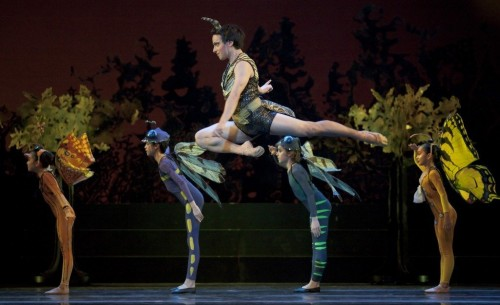 "Oregon Ballet Theatre's ""Midsummer Night's Dream""/Blaine Truitt Covert"