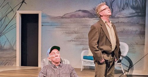 "Tobias Andersen and Gary Norman in ""The Outgoing Tide""/Brud Giles"