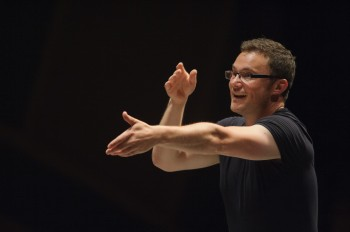 Matthew Halls conducts Portland Baroque Orchestra this weekend.