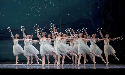 The corps de ballet. Photo: Blaine truitt Covert/2012