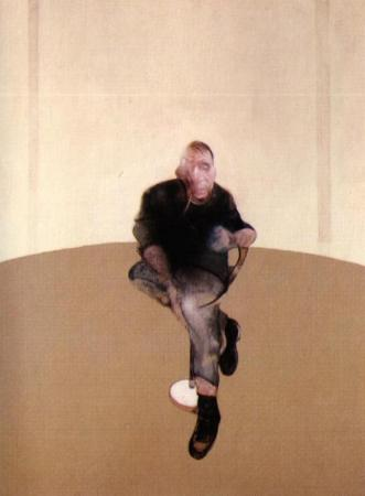 "Bacon, ""Study for a Self-Portrait,"" 1985-86, private collection/Wikimedia Commons"