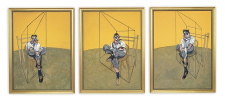 Francis Bacon, Three Studies of Lucian Freud, 1969. © The Estate of Francis Bacon. All rights reserved. / DACS, London / ARS, New York / Christie's Images Limited 2013
