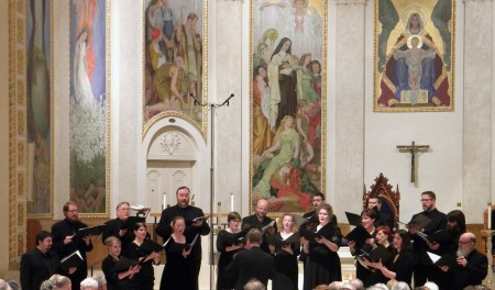 Portland choir Cappella Romana  premieres Steinberg's Passion Week on Friday at St. Mary's Cathedral.