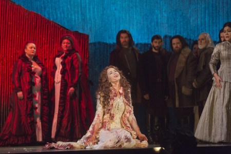 Elizabeth Futral in Portland Opera's Lucia di Lammermoor. Photo: Ken Howard