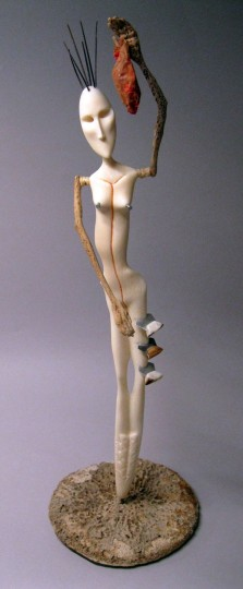"""Susie Silook, """"What Does It Take to See My Heart"""" /Courtesy Museum of Contemporary Craft"""