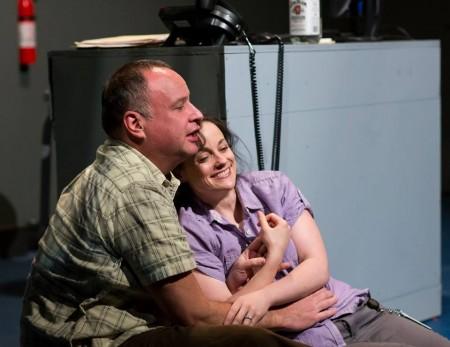 "Jason Glick and Stephanie Cordell, ""The End of Sex."" Theatre Vertigo"
