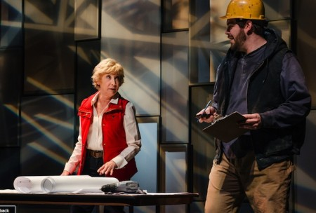Peggy J. Scott as Emily Bridges and Isaac Lamb as Billy Fontaine. Image by Patrick Weishample.