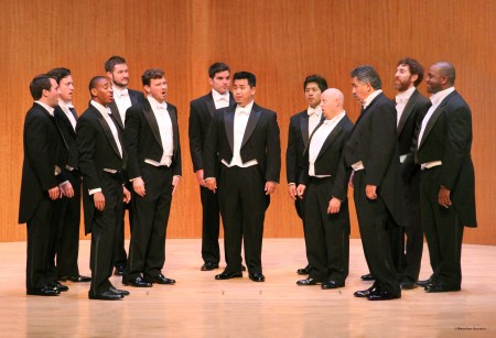 Friends of Chamber Music often brings Chanticleer to Portland.