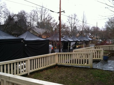 Tent City: How our street got Grimmed.