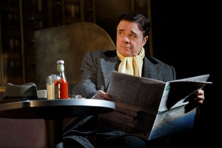 """Nathan Lane: Ketchup and laughter in """"The Nance."""" Photo: Joan Marcus"""