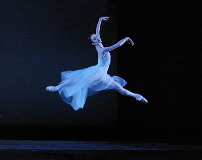 "Roper in Balanchine's ""Seranade,"" 2004. Photo: Blaine Truitt Covert"