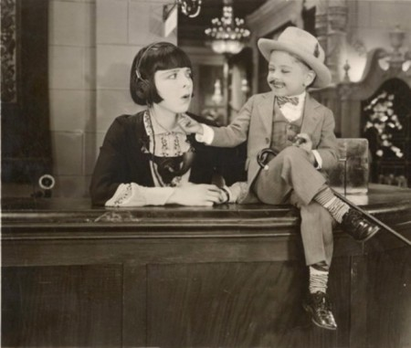 """Mickey before he was Mickey, with Colleen Moore in 1927's """"Orchids and Ermine."""""""