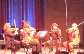 FearNoMusic performed music of Kenji Bunch at Portland's Alberto Rose Theatre.