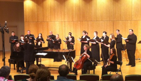 Resonance Ensemble performed at Portland State University.