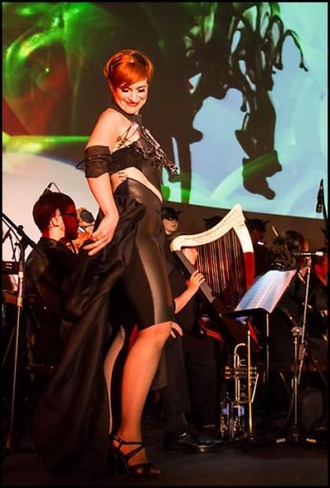 Hannah Penn performs in Opera Theater Oregon's Giasone and the Argonauts. Photo: Martin Stabler.