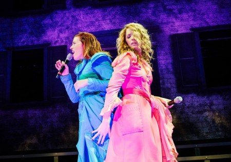 Mary Kate Morrissey (left) as Lizzie, Kacie Sheik as Alice. Photo: Patrick Weishampel