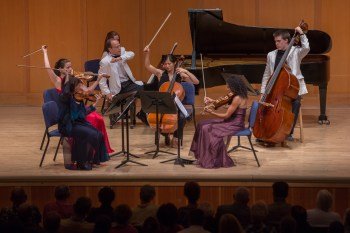 """CMNW musicians gave the Northwest premiere of """"Bullycide."""" Photo: Tom Emerson."""