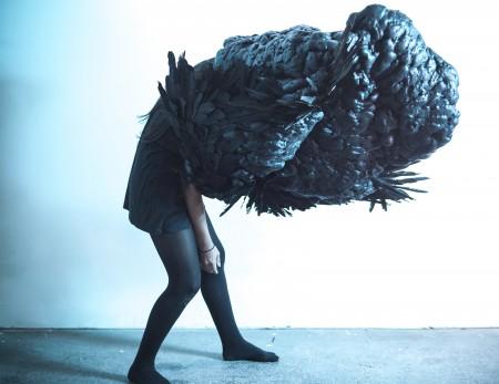 """Jen Hackworth's """"Beast,"""" sculpture by Meghann Gilligan/Photo by Meghann Gilligan"""