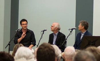 Halls and Sackmann discussed their scholarly reconstruction at a panel in Eugene.