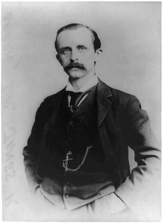 Sir James Barrie, about 1910. Library of Congress/Bain Collection, Wikimedia Commons