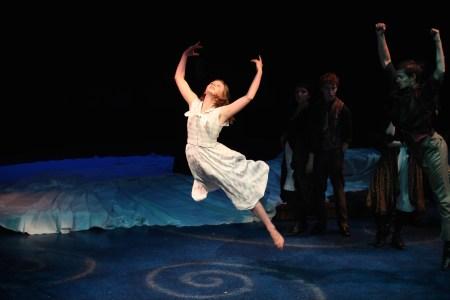 "Jenika Flynn as Louise in ""Carousel."" Photo: Meg Williams"