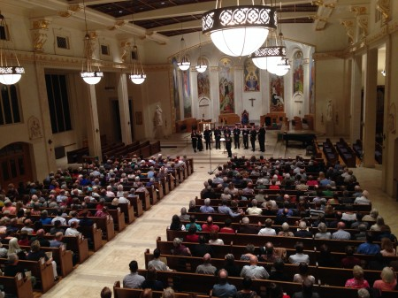 Cappella Romana performed in Seattle and Portland before taking their music to The Netherlands.