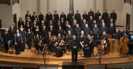 Bach Cantata Choir performed music by Bach, Buxtehude and Zelenka Sunday.