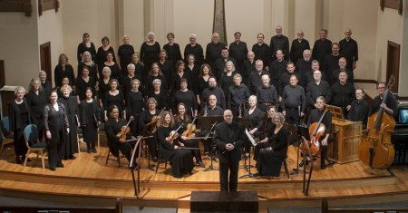 Bach Cantata Choir performed music by Bach, Buxtehude and Zelenka Sunday.